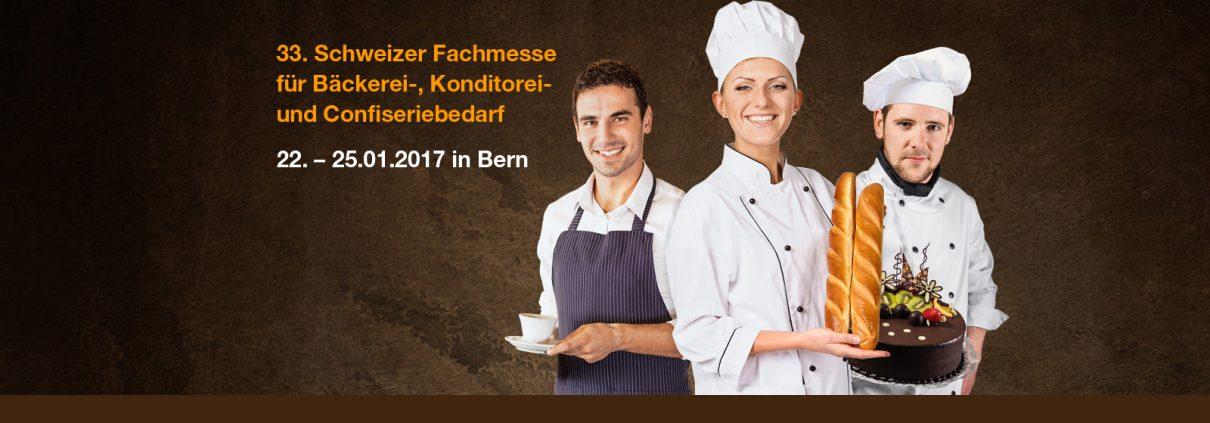 33. Schweizer Fachmesse für Bäckerei-, Konditorei- und Confiseriebedarf